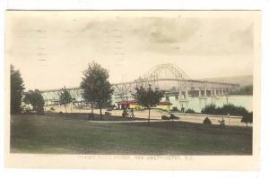 RP, Fraser River Bridge, New Westminster, British Columbia, Canada, PU-1947