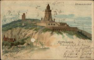 Germany? Kyffhauser Barbarossa Used 1904 Postcard