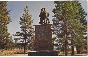 Donner Pass Monument Memorial to Pioneers Who Died in Snow 1846  California