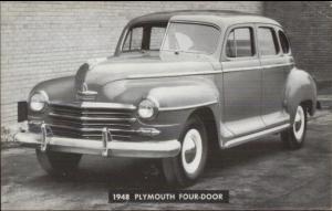 1948 Plymouth 4 Door Car Auto Cherokee Storm Lake Iowa IA Peterson Motors