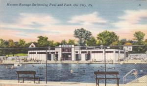 OIL PARK , Pennsylvania , 30-40s ; Hasson-Ramage Swimming Pool