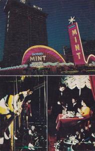 Nevada Las Vegas Del Webb's Mint Hotel & Casino At Night 1978
