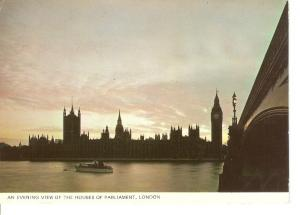 Postal 044627 : Ben Clock Tower is on the right of the picture. London