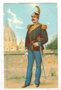 Guardia Nobile pontificia in bassa lenuta, Vatican, 1890s