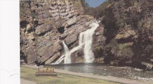 Scenic view,  Waterton Lakes National Park,  Cameron Falls,   Alberta,   Cana...