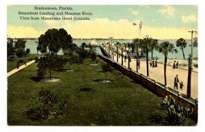 FL - Bradenton. (Bradentown) Steamboat Landing on Manatee River