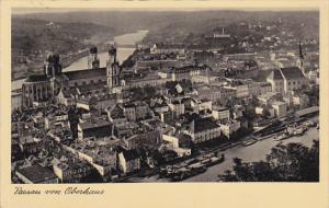 Passau von Oberhaus , Germany , PU-1934