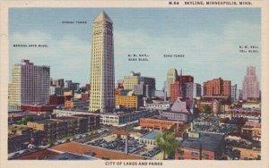 Skyline Minneapolis Minnesota