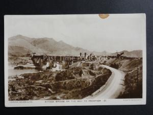Pakistan: Attock Bridge on the Way to the Frontier - Old RP Postcard