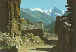 Switzerland, Suisse, Chalets a Ayer, Val d'Anniviers