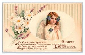 20911  ANGEL  Easter greeting with poem