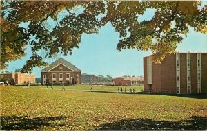 Canton New York~St Lawrence University~Students Crossing South Campus~1960s PC