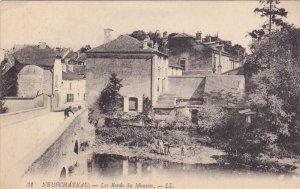 NEUFCHATEAU, Vosges, France, PU-1919; Les Bords Du Mouzon