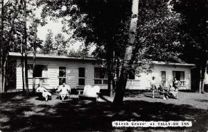 Huntsville Muskoka Canada Birch Grove Tally Ho Inn Real Photo Postcard J69602