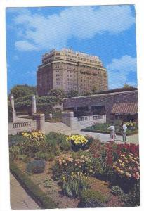 Floral Display, Oakes Gardens and Hotel General Brock, Niagara Falls, Ontario...
