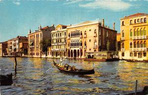 Italy Old Vintage Antique Post Card Ca d'Oro Venezia 1964