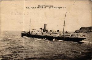 CPA Port Vendres- Le Mustapha II, SHIPS (762549)
