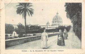 BR32743 Roma Giardini Vaticani italy