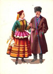 Poland Trachten Costume Stroj krzczonowski (Lubelskie)