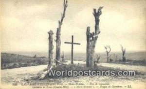Mori Homme, Bois de Cumieres Calvaire D'Esnes, France, Carte, Unused