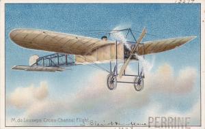 Pioneer aviation airplane , 00-10s ; M.de Lesseps' Cross-Channel Flight , TUC...