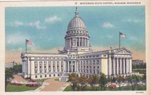 Wisconsin Madison Wisconsin State Capitol