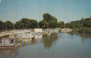 Ohio St Marys Channel For Boat Docking North Shore Opposite St Marys Boat Clu...