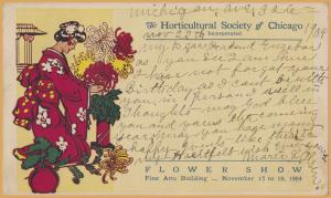 Chicago, ILL., The Horticultural Society of Chicago Flower Show, Nov 15-19, 1904