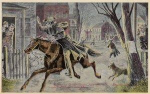 LEXINGTON , Mass . , 1910s ; Revolutionary War , Paul Revere's Ride