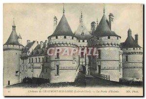 Old Postcard Chateau de Chaumont sur Loire Loir et Cher La Porte d'Entree