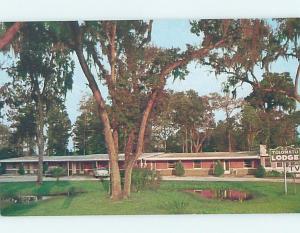 Unused Pre-1980 LODGE SCENE St. Augustine Florida FL c5173