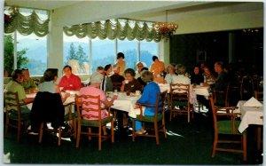 Deer Park, California Postcard ST. HELENA HOSPITAL & HEALTH CENTER Dining Room
