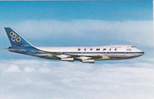 Olympic Airways Boeing 747-200B Jumbo Jet