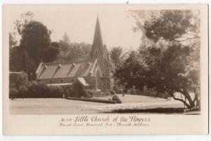 RPPC, Little Church of Flowers, Glendale CA