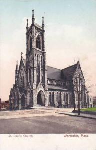 Massachusetts Worcester Saint Pauls Church