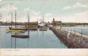 Boats, Trelleborg, Sweden, 1900-1910s