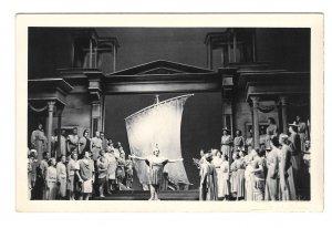 RPPC Austria Salzburg Festival die Liebe der Danae Strauss Opera Paul Schoffler