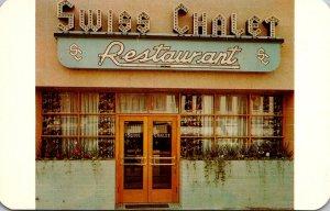 Colorado Colorado Springs The Swiss Chalet Restaurant