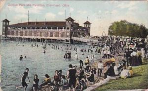 Ohio Cleveland Gordon Park and Pavilion 1911