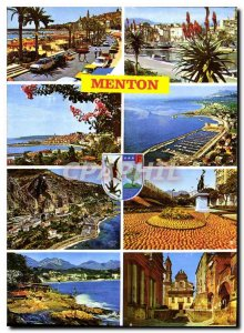 Postcard Modern colors and light of the French Riviera France Alpes Maritimes...
