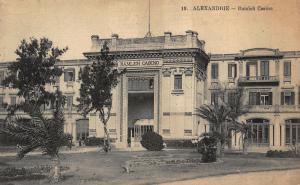 Egypt Alexandrie Ramleh Casino Postcard