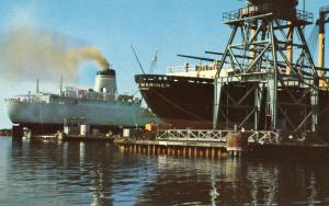MS - Pascagoula. Ships in for Repair