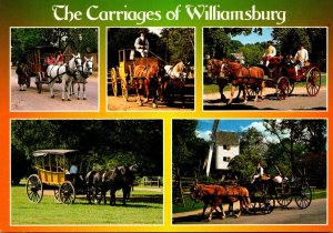 Virginia Williamsburg The Colonial Carriages