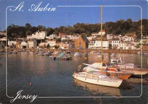 Jersey Postcard, 2005 St Aubin, Channel Islands by John Hinde Ltd O96