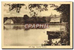 Postcard From Old Spa Lake Warfaz