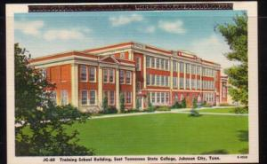 Tennessee colour PC Training School E Tenn State, Johnson City, unused
