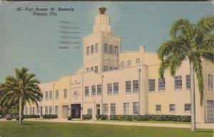 Florida Tampa Fort Homer W Hesterly Curteich sk2365