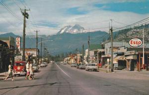 Main Street , SQUAMISH , B.C. , Canada , 50-60s