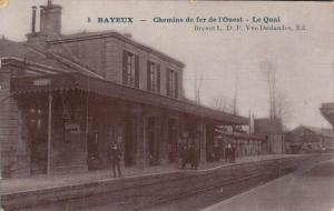 Belgium Bayeux Chemins de fer de l'Ouest Le Quai 02.73