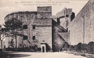 SAINT MALO, Ille Et Vilaine, France, 1900-1910´s; Little Gungeon And Qui-qu'...